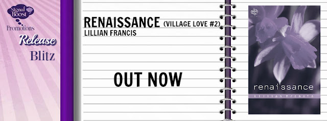 Tour: Incl Review , Excerpt, Interview & Giveaway Lilian Francis - Renaissance (Village Love #2)