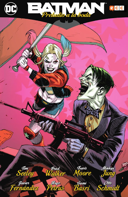 """Reseña de """"Batman: Preludio a la Boda"""" de Tim Seeley - ECC Ediciones"""