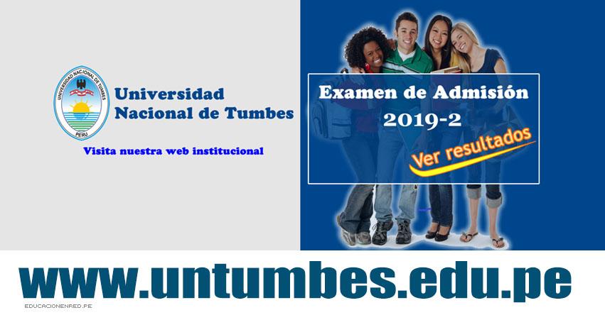 Resultados UNTUMBES 2019-2 (Domingo 11 Agosto) Lista de Ingresantes - Examen Admisión Ordinario - Universidad Nacional de Tumbes - www.untumbes.edu.pe
