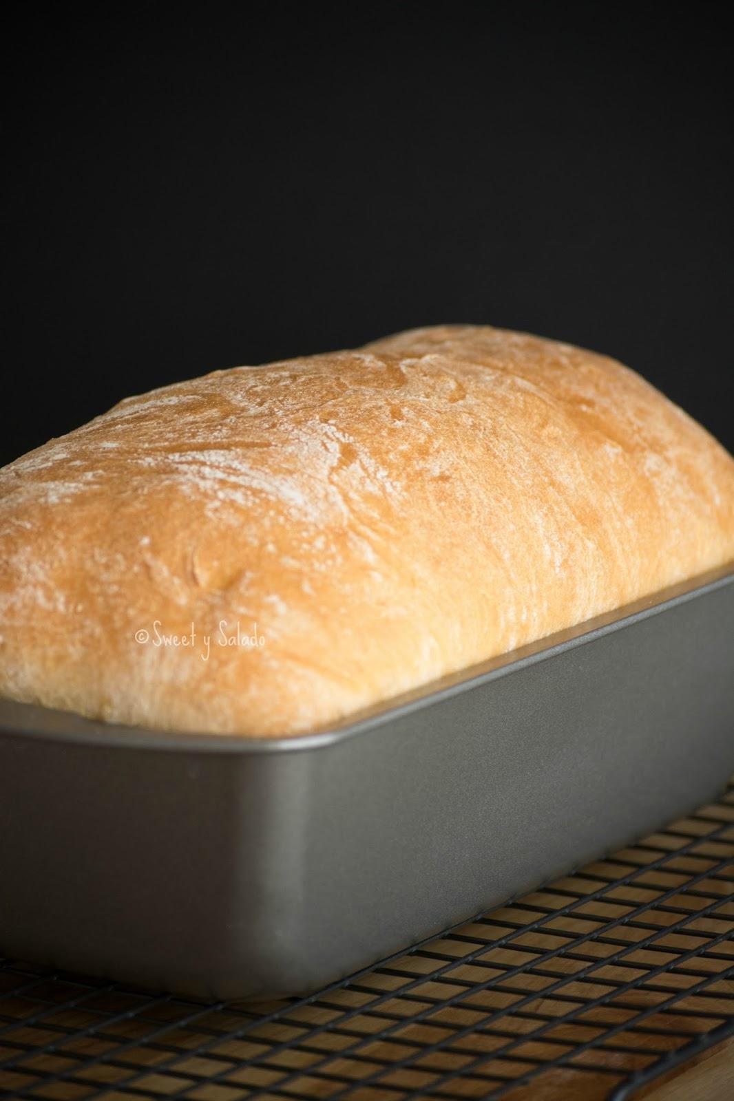 Basic White Sandwich Bread Sweet Y Salado
