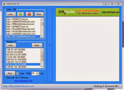 Download Latest Adf ly Bot v5 Free without any Survey [with Fresh