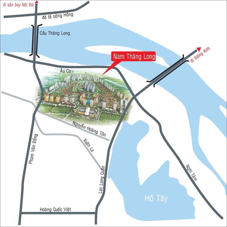 Vị trí đắc địa tại chung cư Shunshine City Tây Hồ
