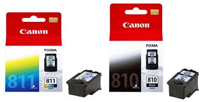 Cartridge Canon 811 dan 810