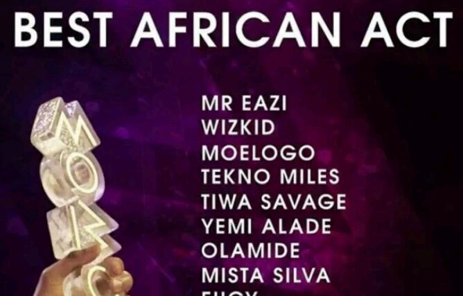 Stella Dimoko Korkus com: Olamide, Tekno, Wizkid and others get MOBO