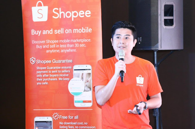 Ian Ho, Regional Managing Director of Shopee