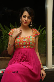 Actress Deeksha Panth Pictures at Araku Road Lo Audio Launch  0087.JPG