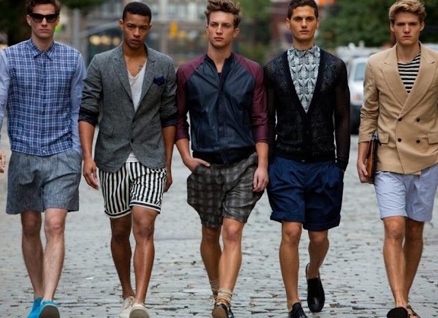 menswear shorts fashion
