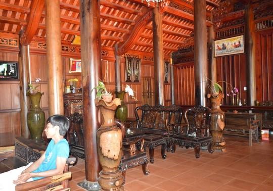 nội thất nhà gỗ 5 gian đẹp