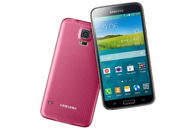 "Samsung Galaxy S5 LTE-A G901F Specifications - LAUNCH Announced 2014, August Also Known As Samsung Galaxy S5 LTE-A G901F for Europe Samsung Galaxy S5 4G+ for Singapore DISPLAY Type Super AMOLED capacitive touchscreen, 16M colors Size 5.1 inches (~69.6% screen-to-body ratio) Resolution 1080 x 1920 pixels (~432 ppi pixel density) Multitouch Yes Protection Corning Gorilla Glass 3  - TouchWiz UI BODY Dimensions 142 x 72.5 x 8.1 mm (5.59 x 2.85 x 0.32 in) Weight 145 g (5.11 oz) SIM Micro-SIM  - IP67 certified - dust and water resistant - Water resistant up to 1 meter and 30 minutes PLATFORM OS Android OS, v4.4.2 (KitKat) CPU Quad-core 2.5 GHz Krait 450 Chipset Qualcomm Snapdragon 805 GPU Adreno 420 MEMORY Card slot microSD, up to 256 GB (dedicated slot) Internal 16/32 GB, 2 GB RAM CAMERA Primary 16 MP, phase detection autofocus, LED flash Secondary 2 MP, 1080p@30fps, dual video call Features 1/2.6"" sensor size, 1.12 µm pixel size, geo-tagging, touch focus, face/smile detection, panorama, HDR Video 2160p@30fps, 1080p@60fps, 720p@120fps, HDR, dual-video rec NETWORK Technology GSM / HSPA / LTE 2G bands GSM 850 / 900 / 1800 / 1900 3G bands HSDPA 850 / 900 / 1900 / 2100 4G bands LTE band 1(2100), 2(1900), 3(1800), 5(850), 7(2600), 8(900), 20(800) Speed 42.2/5.76 Mbps, LTE-A Cat6 300/50 Mbps GPRS Yes EDGE Yes COMMS WLAN Wi-Fi 802.11 a/b/g/n/ac, dual-band, Wi-Fi Direct, hotspot NFC Yes GPS Yes, with A-GPS, GLONASS USB microUSB v3.0 (MHL 2.1 TV-out), USB Host Radio  Bluetooth v4.0, A2DP, EDR, LE, aptX Infrared Port Yes FEATURES Sensors Sensors Fingerprint, accelerometer, gyro, proximity, compass, barometer, gesture, heart rate Messaging SMS(threaded view), MMS, Email, Push Mail, IM Browser HTML5 Java No SOUND Alert types Vibration; MP3, WAV ringtones Loudspeaker Yes 3.5mm jack Yes  - 24-bit/192kHz audio - Active noise cancellation with dedicated mic BATTERY  Removable Li-Ion 2800 mAh battery Stand-by  Talk time  Music play  MISC Colors Charcoal Black, Shimmering White, Electric Blue, Copper Gold SAR US 1.09 W/kg (head)     1.29 W/kg (body)   SAR EU 0.61 W/kg (head)     0.38 W/kg (body)      - ANT+ support - S-Voice natural language commands and dictation - Air gestures - Dropbox (50 GB cloud storage) - MP4/DivX/XviD/WMV/H.264 player - MP3/WAV/WMA/eAAC+/FLAC player - Photo/video editor - Document viewer"
