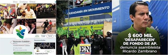 rafael correa movimiento revolución ciudadana