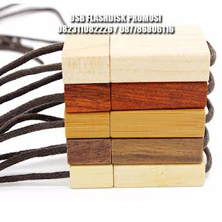 usb flashdisk kayu model tambang