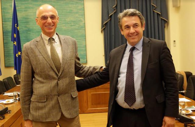 Συνάντηση του Προεδρείου  της Ομάδας Φιλίας Ελλάδας - Κροατίας με τον Πρέσβη της Κροατίας στην Αθήνα