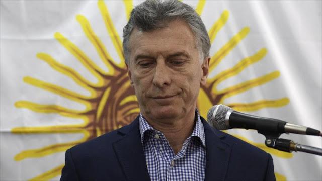Sondeo: imagen de Macri está en su peor momento desde 2015