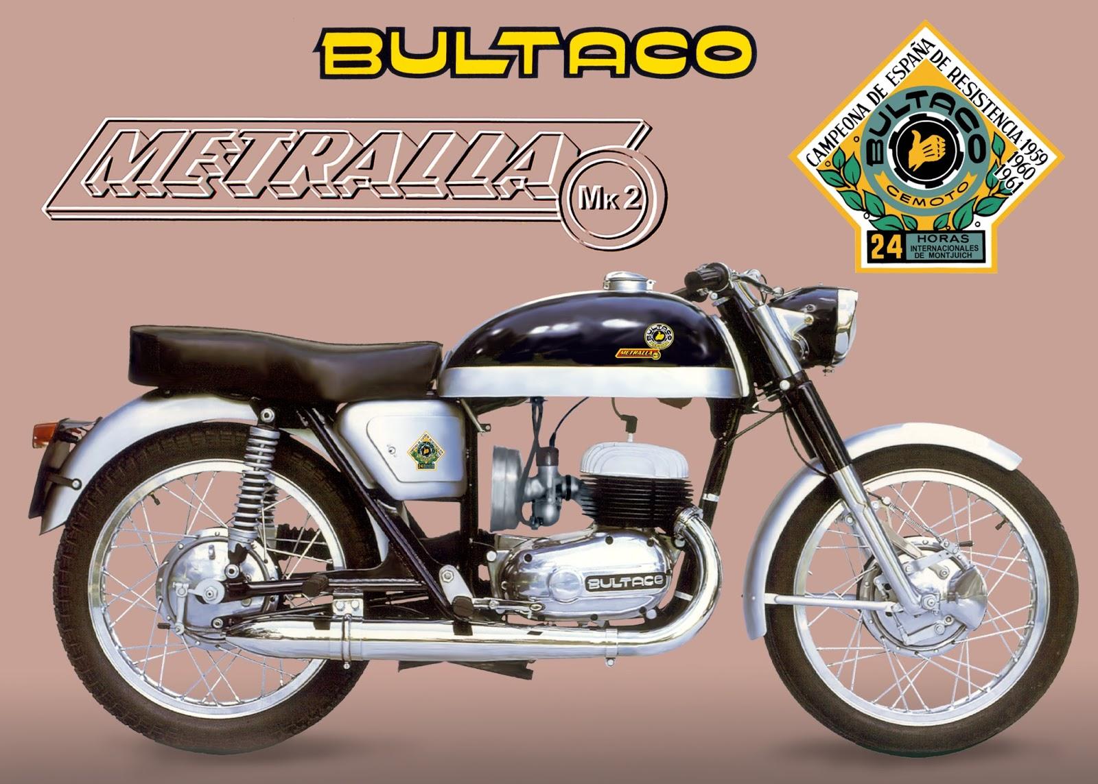 Te Gustaban Las Motos Españolas De Los 60 Y 70 El Blog De Fotos