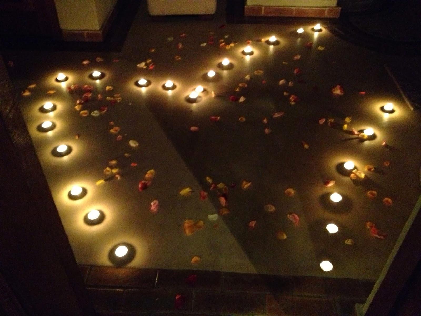 Sabi Sands - Candles everywhere in the bathroom