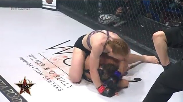 Caitlin Sammons KOs. Christina Ricker In Her Invicta FC Debut