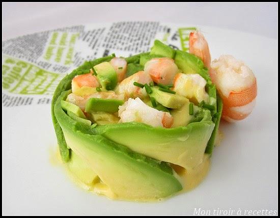 Mon Tiroir A Recettes Blog De Cuisine Avocat Crevettes