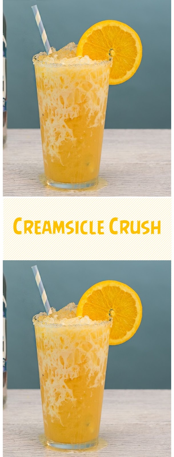 Easy Creamsicle Crush