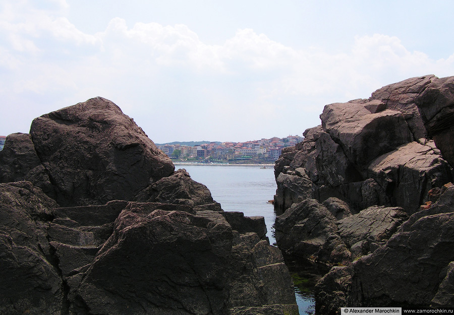 Чёрные скалы. Созополь (Болгария)   Black Rocks of Sozopol