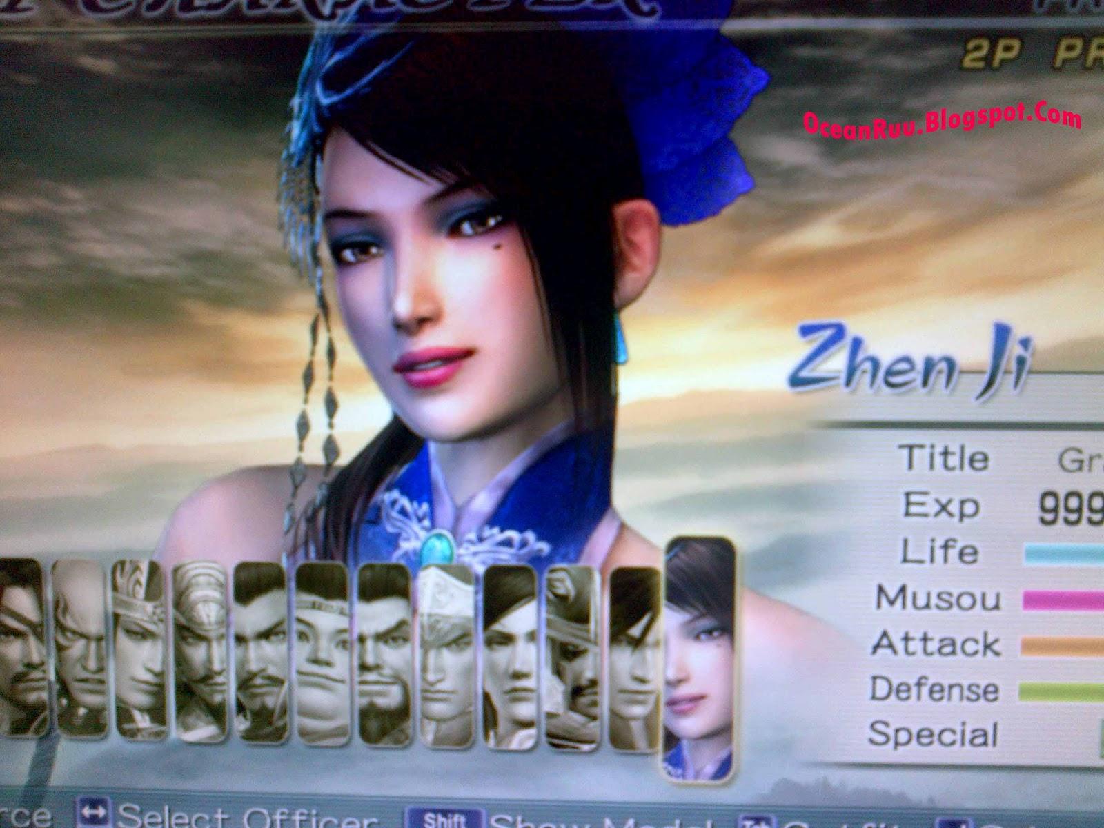dynasty warriors 6 zhen ji ending a relationship
