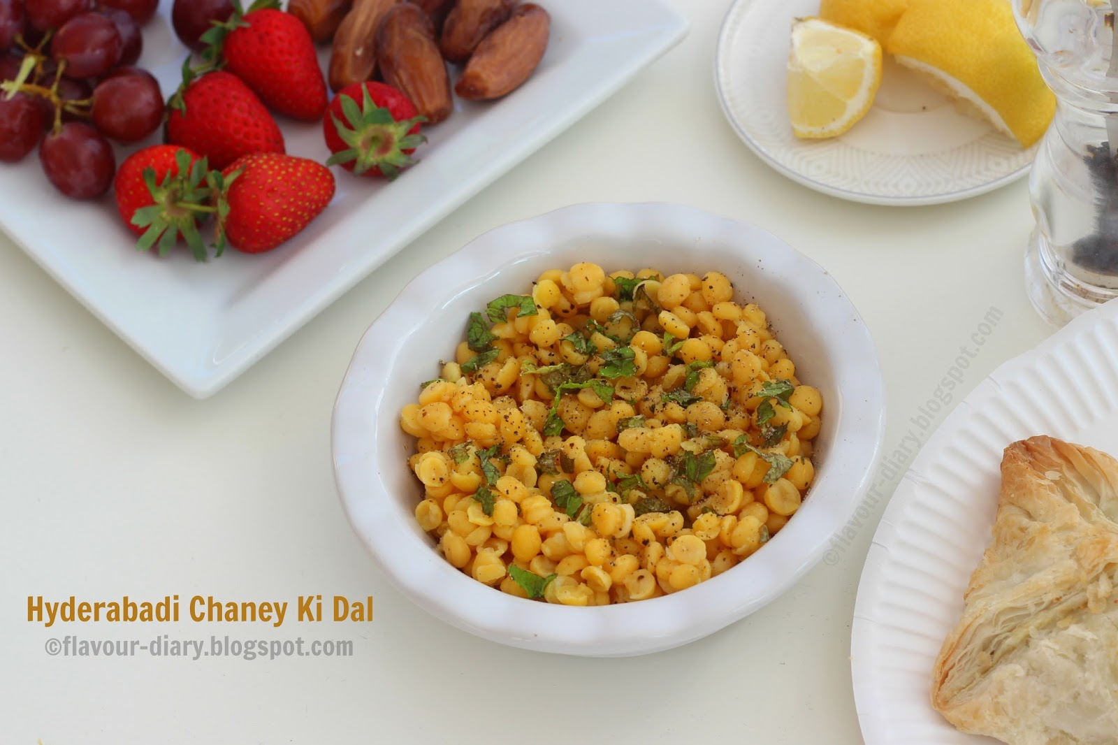 hyderabadi ramadan snack Chana dal
