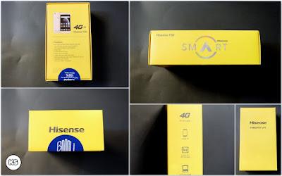 Unboxing Hisense F30 / Hisense Pureshot Lite kotak kemasan