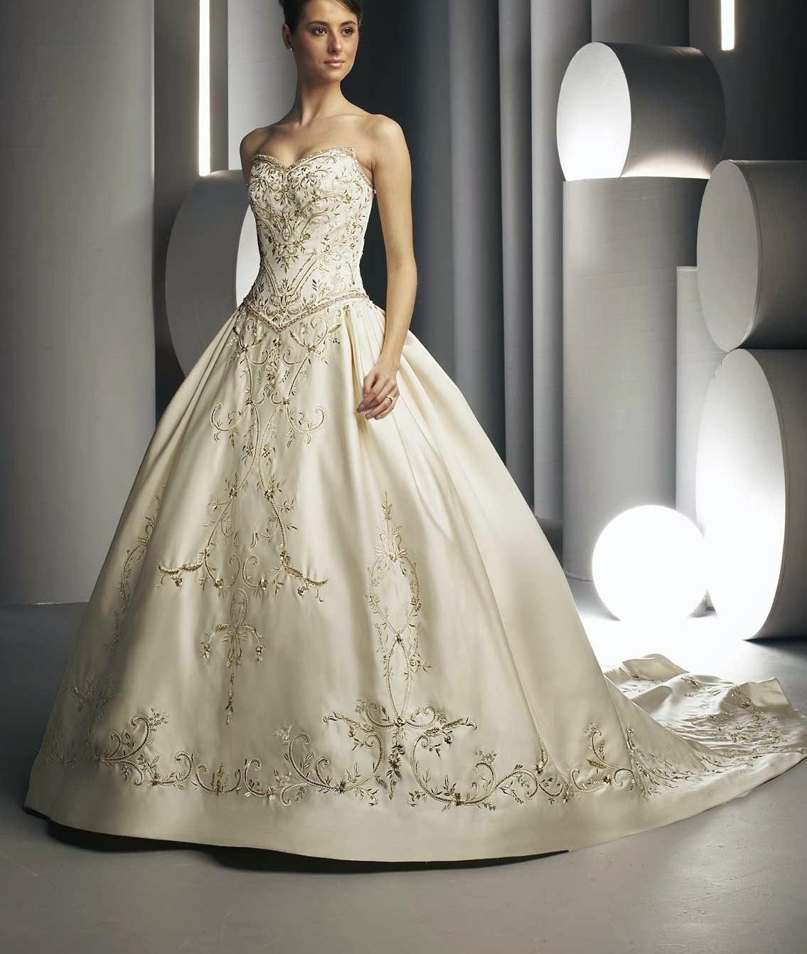 long champane colored sleeveless wedding dresses champaign wedding dress Long Champane Colored Sleeveless Wedding Dresses 17