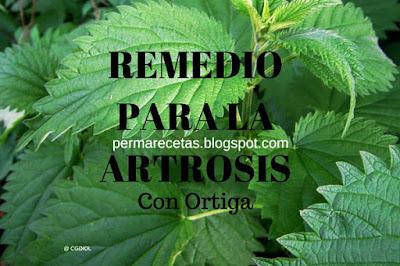Remedio para la Artrosis