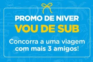 Cadastrar Promoção Submarino Viagens Aniversário 2017