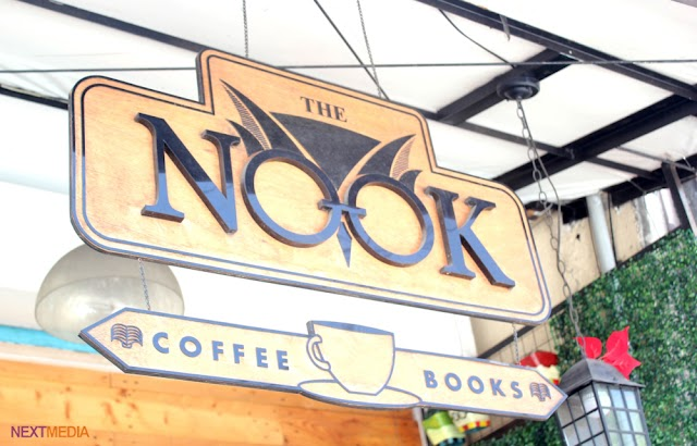 The Nook Cafe keeps the Harry Potter vibe alive
