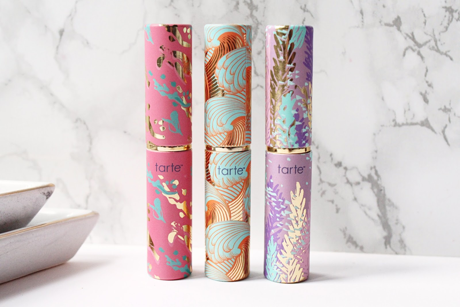 Tarte Rainforest of the Sea Quench Lip Rescue Trio Vol. II