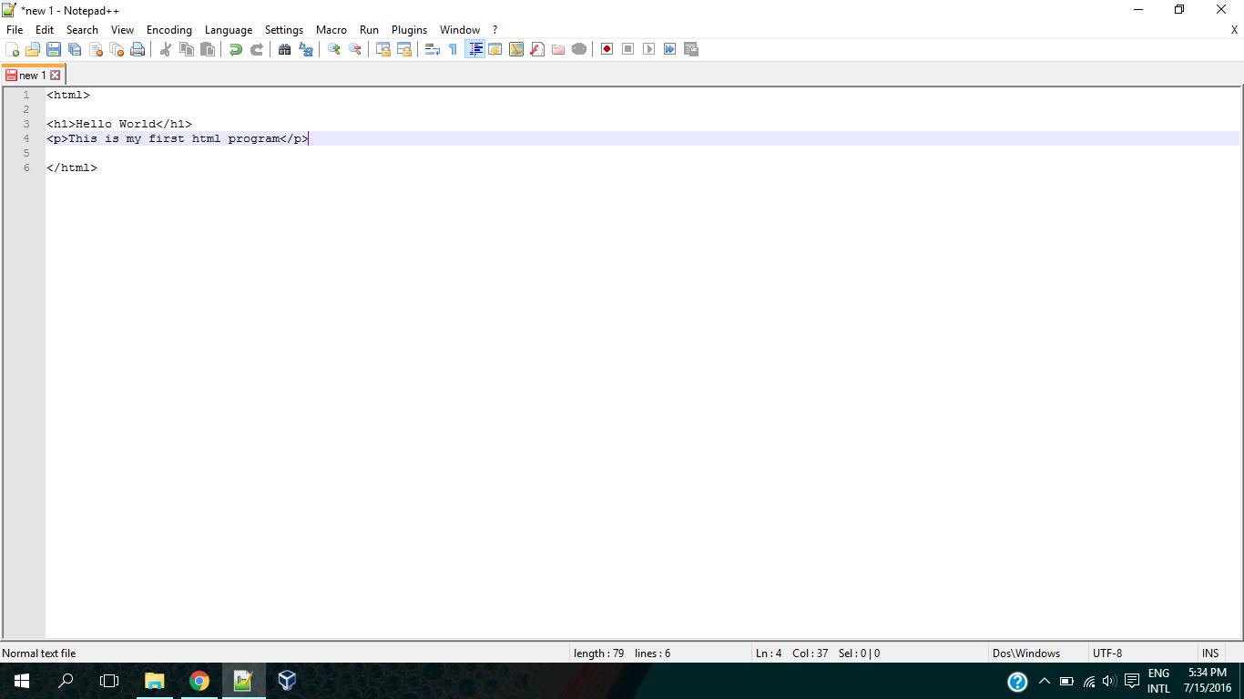 Making HTML windows programs