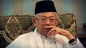 Ma'ruf Amin Sebut Banyak Ulama Ditinggalkan Usai Pemilu