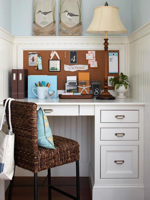 Um cantinho para o home office!!! - Jeito de Casa - Blog ...