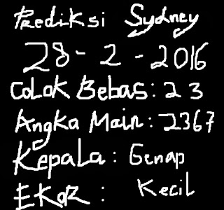 colokbebastop.blogspot.com-PREDIKSI COLOK BEBAS TOP SYDNEY,SINGAPORE,HONGKONG 28 FEBRUARY 2016