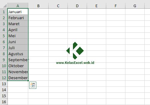 Menggabungkan Teks Excel dengan Fill Justify 1