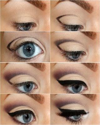 Como maquillar los ojos con SOMBRAS paso a paso fácil