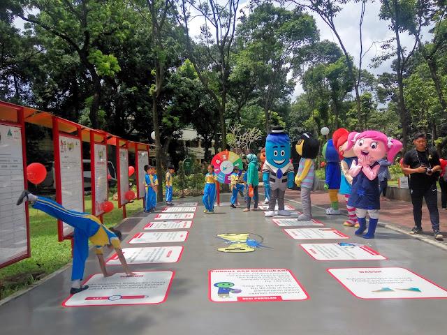 Taman Literasi antara Game Anak dan Edukasi
