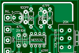 cara pasang volume pada power dengan rangkaian Master Mixer stereo