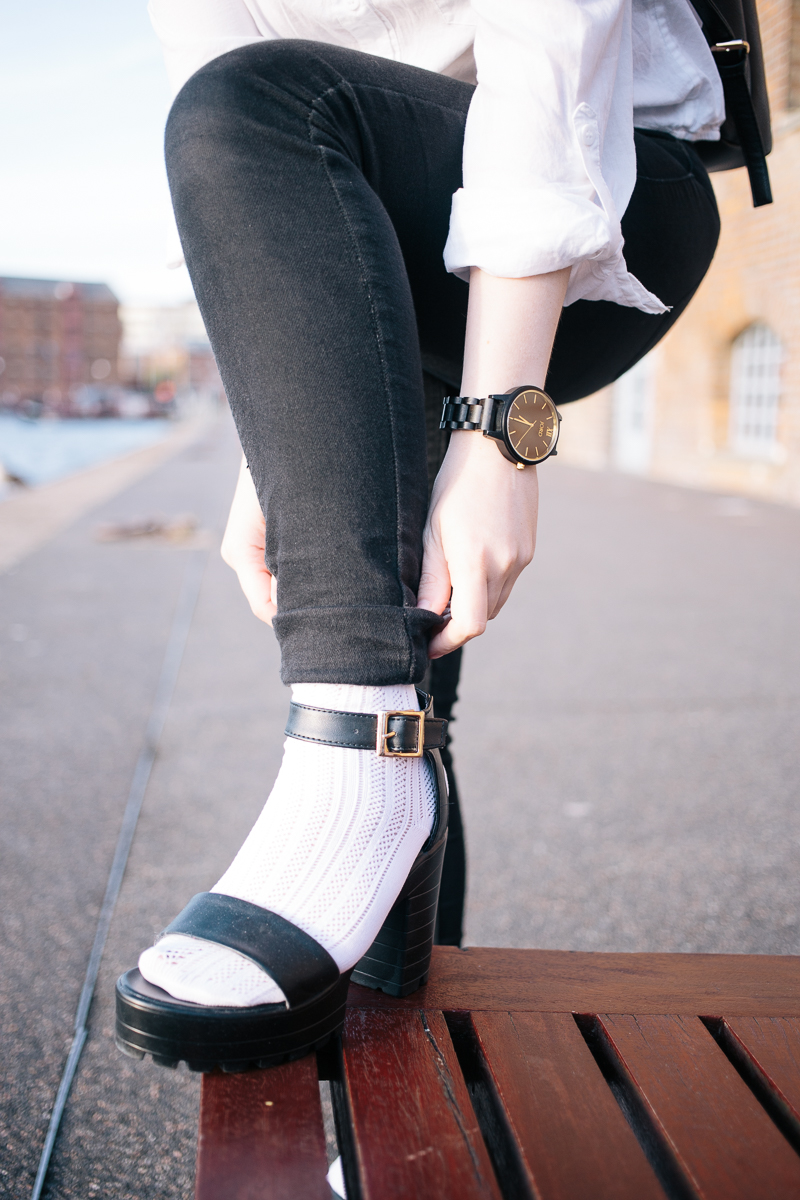 Socks With Sandals OOTD & Giveaway