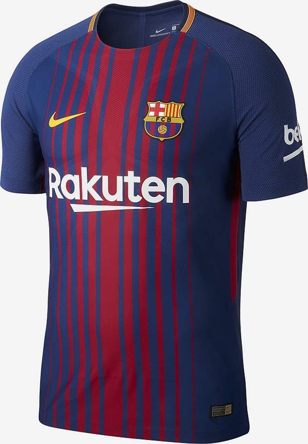 Nike divulga a nova camisa titular do Barcelona - Show de Camisas 6ca11de42f1d3
