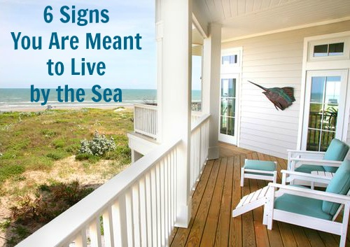Signs you are meant to live by the Sea