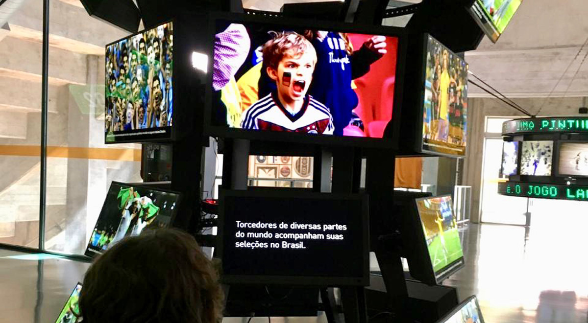 Visita ao Museu do Futebol Pacaembu São Paulo