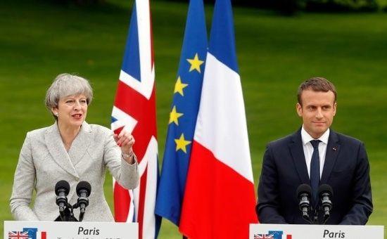 Francia y Reino Unido tratan futuras relaciones tras Brexit