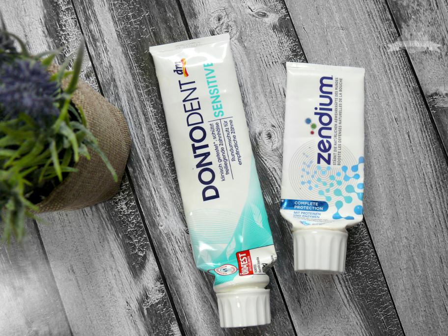 Dontodent Sensitiv und Zendium