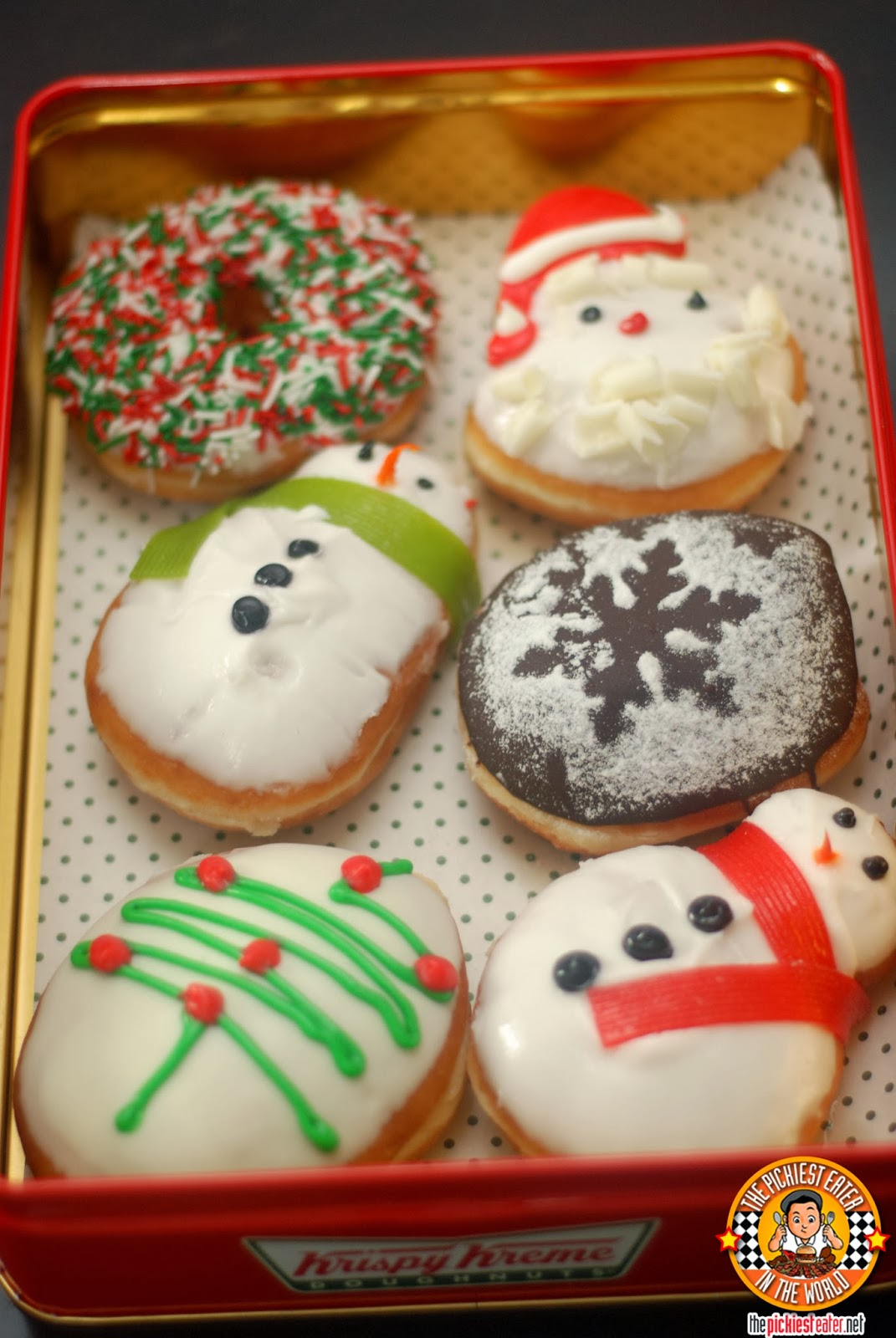 We Rank the Best Holiday Foods From Your Favorite ... |Christmas Krispy Kreme Doughnuts