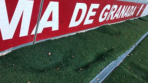 El PSOE de Alhama comprometido con la mejora del campo de fútbol