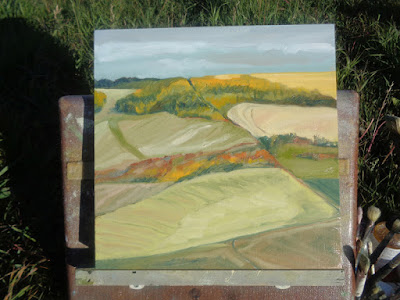 Alberta landscape #95 finished