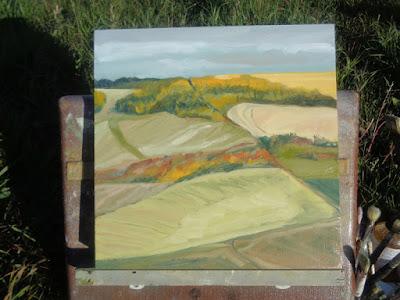 Alberta landscape #95 finished