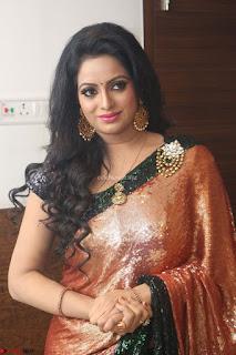 Udaya Bhanu lookssizzling in a Saree Choli at Gautam Nanda music launchi ~ Exclusive Celebrities Galleries 061.JPG